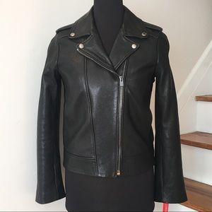 NWOT The Kooples Biker Leather Jacket
